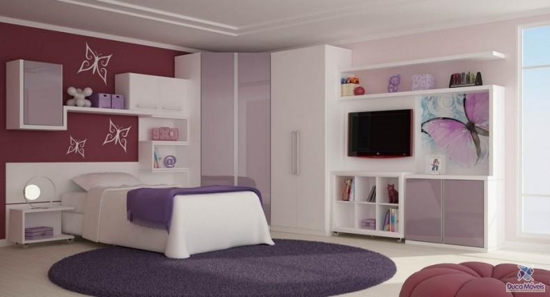 vantagens dos móveis planejados quarto