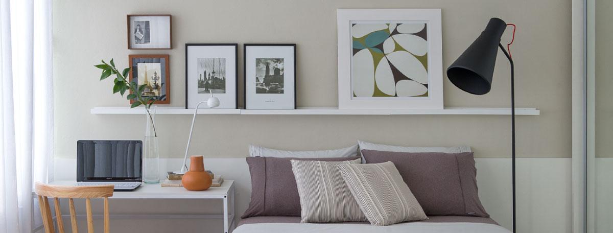 8 Dicas para Decorar Quartos Pequenos Duca Móveis -> Decoração De Interiores Quarto Pequeno