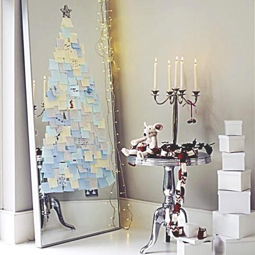 Árvore de decoração de Natal