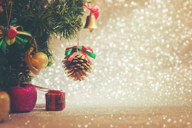 Decoração de Natal para escritório