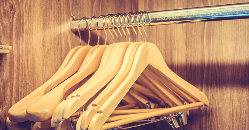 organizar o guarda-roupa